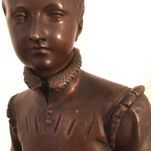 """BOSIO François Joseph """"Henri IV enfant"""" Epreuve en bronze, fonte d'édition ancie…"""