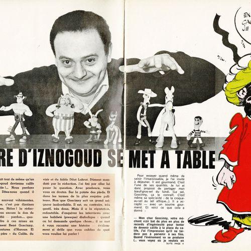 TABARY Iznogoud, dessin original à l'encre de chine et à l'aquarelle publié dans…