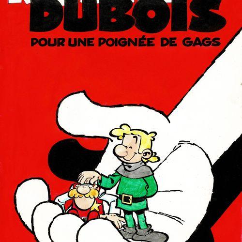 TURK Robin Dubois, Pour une poignée de gags, projet de couverture original à l'e…