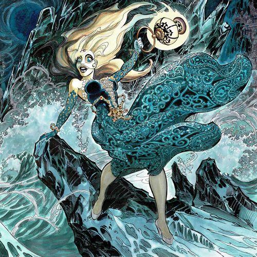 Jean Pierre Danard Marlysa, Les Filles de Soleil, dessin original à l'encre de c…