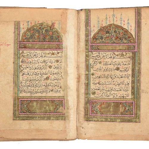 [KORAN] Coran  8vo (188 x 128 mm). Un Coran ottoman, 303 lvs, manuscrit arabe su…