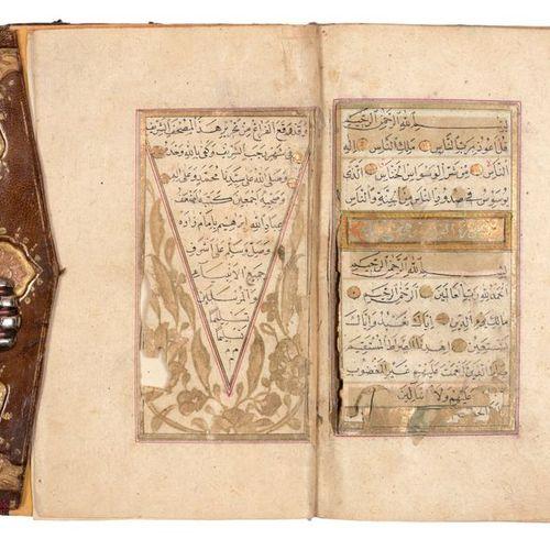 [KORAN] Coran  8vo (160 x 100 mm). Un Coran ottoman, 396 lvs, manuscrit arabe su…