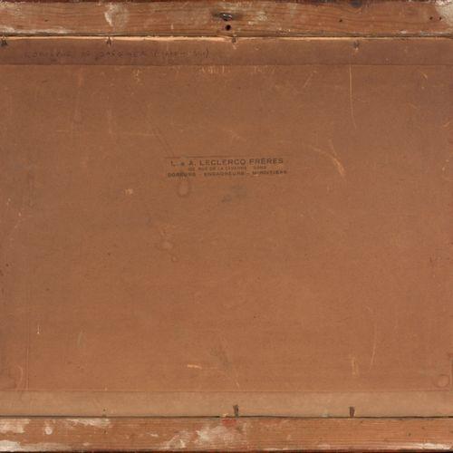 DE SAEGHER, Rodolphe (1871 1941) Winterlandschap aan de oevers  Pastel (27 x 36,…