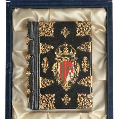 [FACSIMILE] Libro de Horas de Isabel la Católica  8vo, full blue leather, 4 rais…