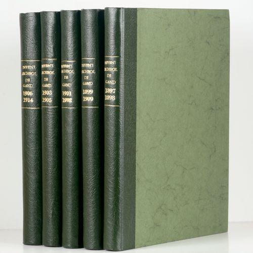 [Gent] Inventaire archéologique de Gand. Catalogue descriptif et illustré des mo…