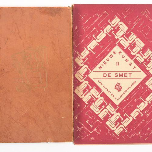 HUEBNER, F.M. Gustave de Smet Amsterdam Van Munster 1921  8°, 16 pp, 28 ill. Bt,…