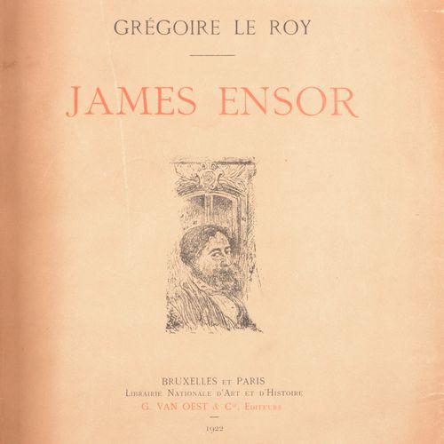 LE ROY, Grégoire James Ensor  Gr. In 4°, 204 pp., ill. (planches en couleurs et …