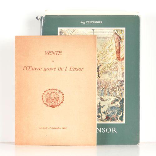 TAEVERNIER, August James Ensor. Catalogue illustré de ses gravures... Geïllustre…