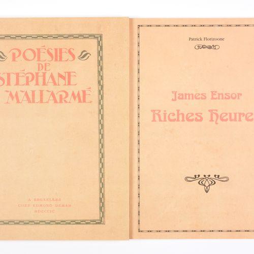 MALLARMÉ, Stéphane Les Poésies de S. Mallarmé  Fac similé d'un exemplaire unique…