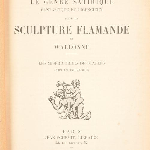 MAETERLINCK, Louis Le genre satirique, fantastique et licencieux dans la sculptu…
