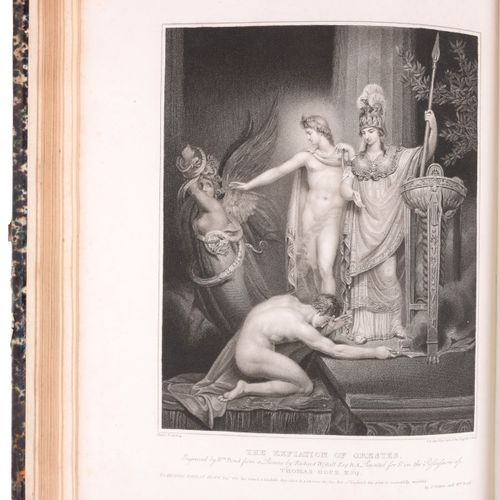 BRITTON, John The fine arts of the English School, illustrated by a series of en…