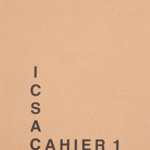 [KUNSTTIJDSCHRIFT] Icsac cahier 1 9  8°, ill., uitg. Kaften. 1. G. Vantongerloo.…