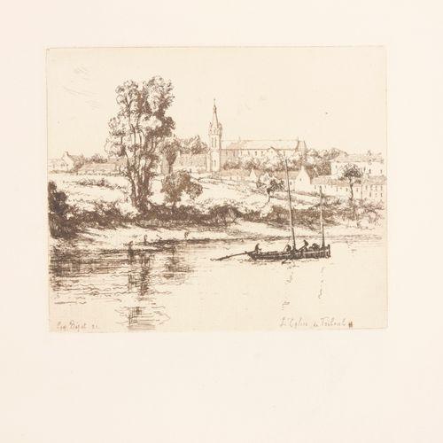 [BEJOT, Eugène] LARAN, Jean L'oeuvre gravé d'Eugène Béjot  4°, 279 pp, 231 ill. …