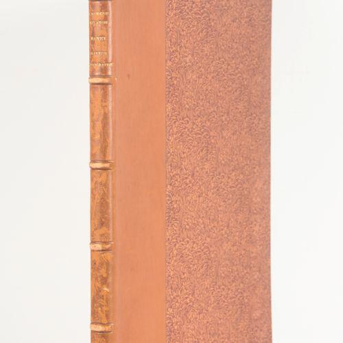 MOREAU NELATON, Étienne Manet, graveur et lithographe  4°, 126 pp, les 104 pièce…
