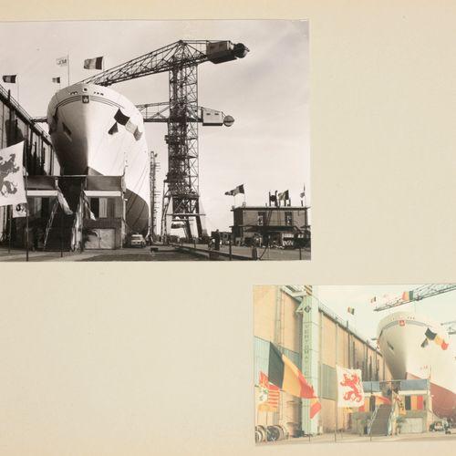 [Antwerpen] Album voor Minister Willy Declerck (1927 2011) tgv de doop van het s…