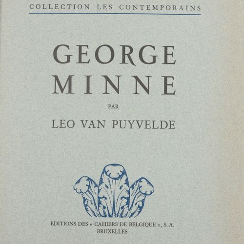 VAN PUYVELDE, Leo George Minne (Collections les Contemporains)  In 4° (29 x 24 c…