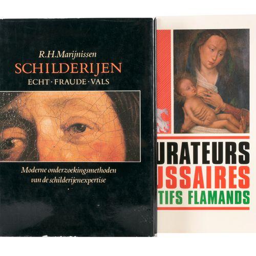 MARIJNISSEN, R.H. Schilderijen. Echt, fraude, vals. Moderne onderzoekingsmethode…