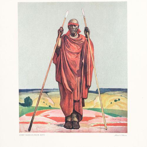 L'OLIVIER, Allard Le Congo Belge vu par le Peintre Allard l'Olivier  In 4°, illu…