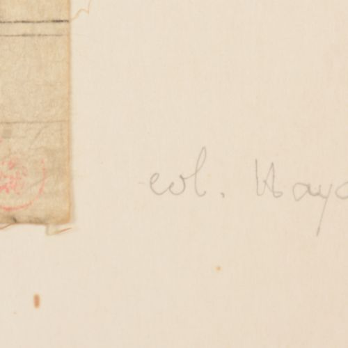 [ROBERTSON, Charles II] Attrib. (1844 1891) Street in North Africa  Watercolour/…