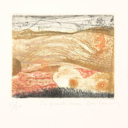 CARCAN, René (1925 1993) Recueil  Série de 11 eaux fortes originales en couleurs…
