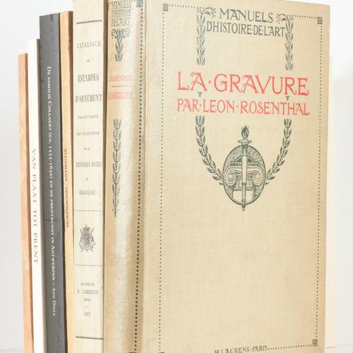ROSENTHAL, Léon Manuels d'Histoire de l'Art. La gravure. Ouvrage illustré de 174…
