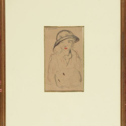 JOOSTENS, Paul (1889 1960) 基金会  水彩画(13.5 x 12 cm),从右到左。英格利希特