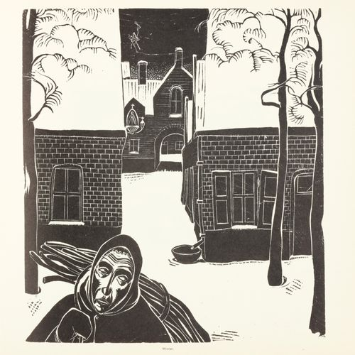 CANTRE, Jan Frans Jan Frans Cantré. Xylograaf 1886 1931. Met inleidend woord doo…