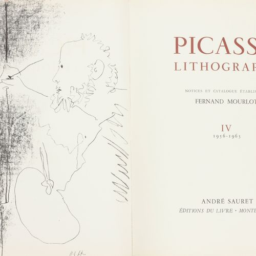 [Picasso] Mourlot, Fernand Picasso Lithographe Volume IV, 1956 1963  Gr. In 4°, …