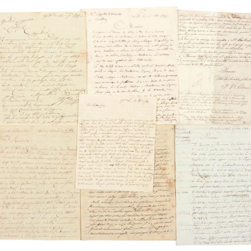 [ARCHIEF COPPIETERS] Archief met handgeschreven brieven  44 handgeschreven briev…