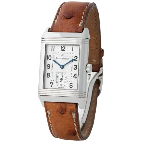 Jaeger LeCoultre. Charming and Valuable Reverso Grand Taille rectangular shape r…