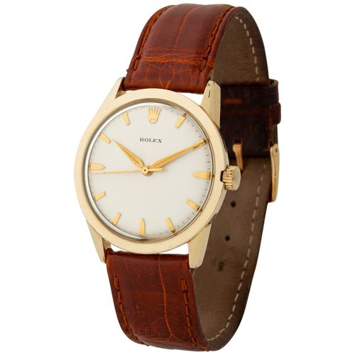 Rolex. Catching and Charming Automatic Wristwatch in Gold Filled, Reference 7002…
