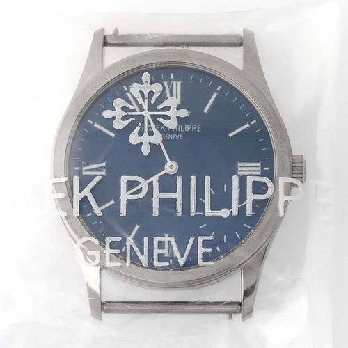 Patek Philippe. Limited Edition and Sophisticated Calatrava Wristwatch in White …