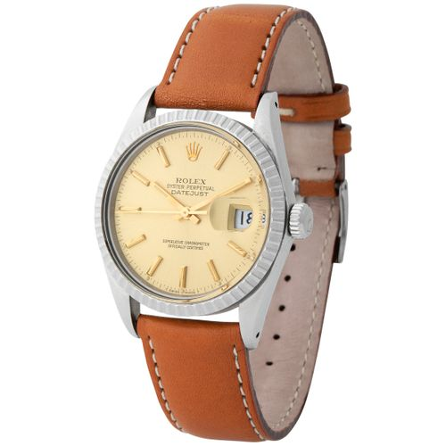 Rolex. Exceptional and Special Datejust Automatic Wristwatch in Steel, Reference…