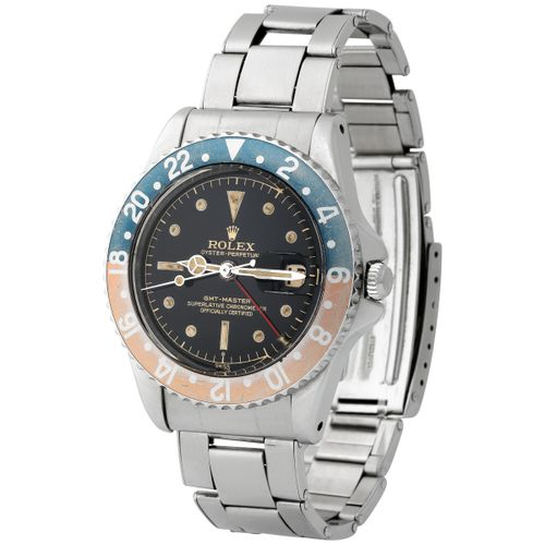 "Rolex. Nice and Beautiful GMT Master ""Exclamation Point"" Automatic Wristwatch in…"