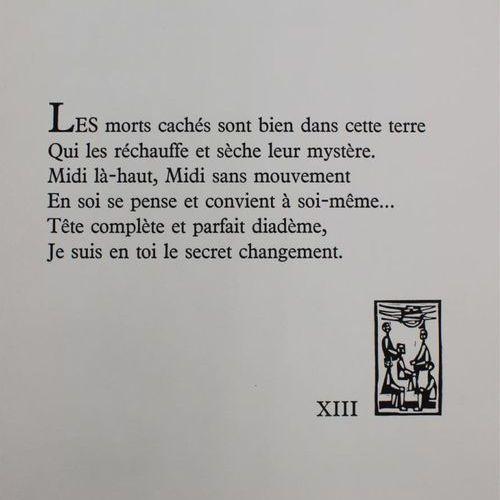 Paul VALÉRY Le cimetière marin Illustré de 25 burins de Abraham KROL (1919 2001)…