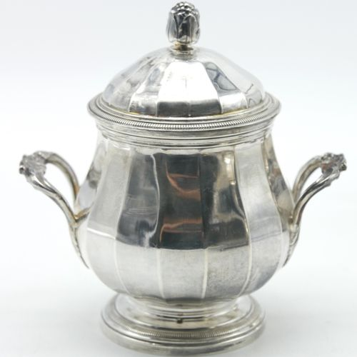 FRANCE BEGINNING OF THE 20th CENTURY  Tea coffee set in silver 925/1000e includi…