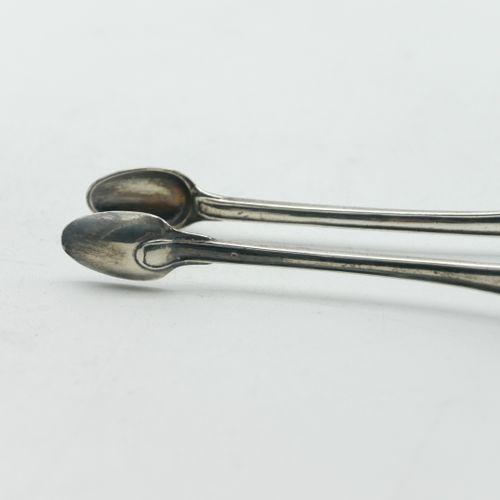 TOULOUSE 18th CENTURY  Silver sugar tongs 800/1000e, baluster shaped  Hallmark o…