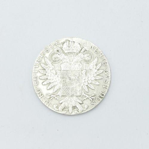 AUTRICHE  Pièce en argent de 1 thaler Marie Thérèse de Habsbourg (1717 1780). Re…