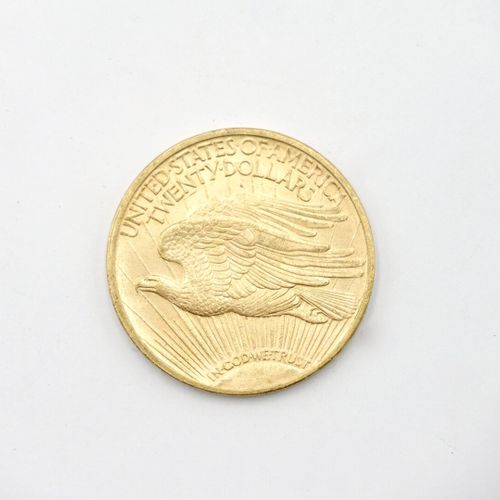 UNITED STATES  20 dollars gold coin Saint Gaudens Double Eagle , 1923  Weight : …