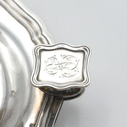 ODIOT Paris XIXe SIÈCLE  Bougeoir à main en argent 925/1000e de style Louis XV, …
