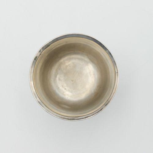 FRANCE 1798 1809  Petite timbale en argent 950/1000e à décor de palmes  Poinçon …