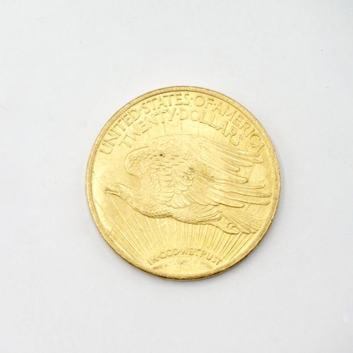 UNITED STATES  20 dollars gold coin Saint Gaudens Double Eagle 1924  Weight : 33…