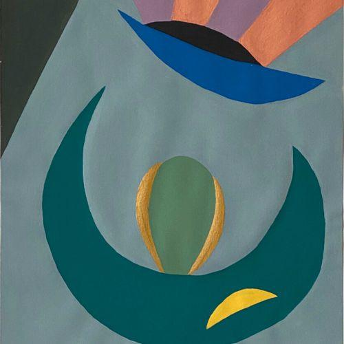 Jean Jacques LAFAYE (1958)  Maïa  Gouache on Velin d'Arches  Signed lower left  …