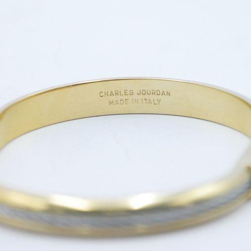 Charles JOURDAN Michel HERBELIN  Lot comprenant :   Bracelet manchette en métal …