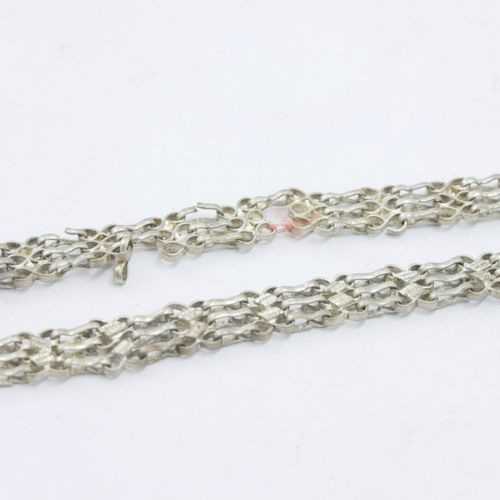 INDE & ASIE XXe siècle  Lot de bijoux dont :   Trois ceintures en métal   Collie…