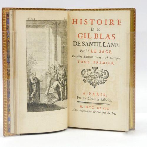 LE SAGE Alain René  Histoire de GIL BLAS DE SANTILLANE  Dernière édition revue e…