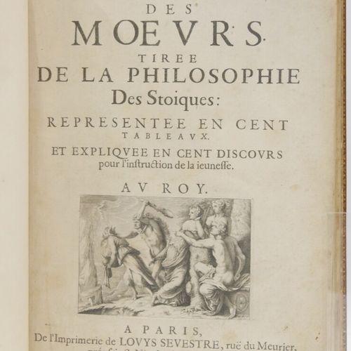 Marin LE ROY seigneur de GOMBERVILLE  La Doctrine des moeurs tirée de la philoso…
