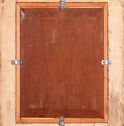 Alberto PASINI (1826 1899)  Le messager devant la porte.  Huile sur panneau.  Si…