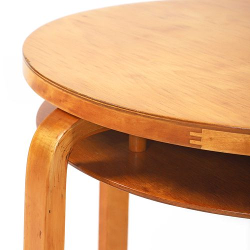Alvar AALTO (1898 1976)  Table called 70 Birch Stamped Aalto design, made in Fin…