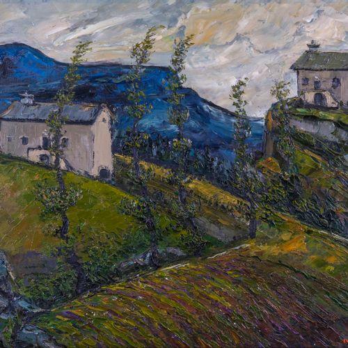 Arsène SARI (1895 1995)  Paysage  Huile sur toileSignée en bas à gauche 60 x 81…